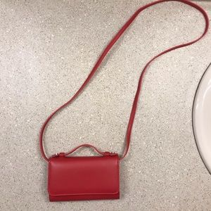 NWOT UO phone clutch/wallet with shoulder strap
